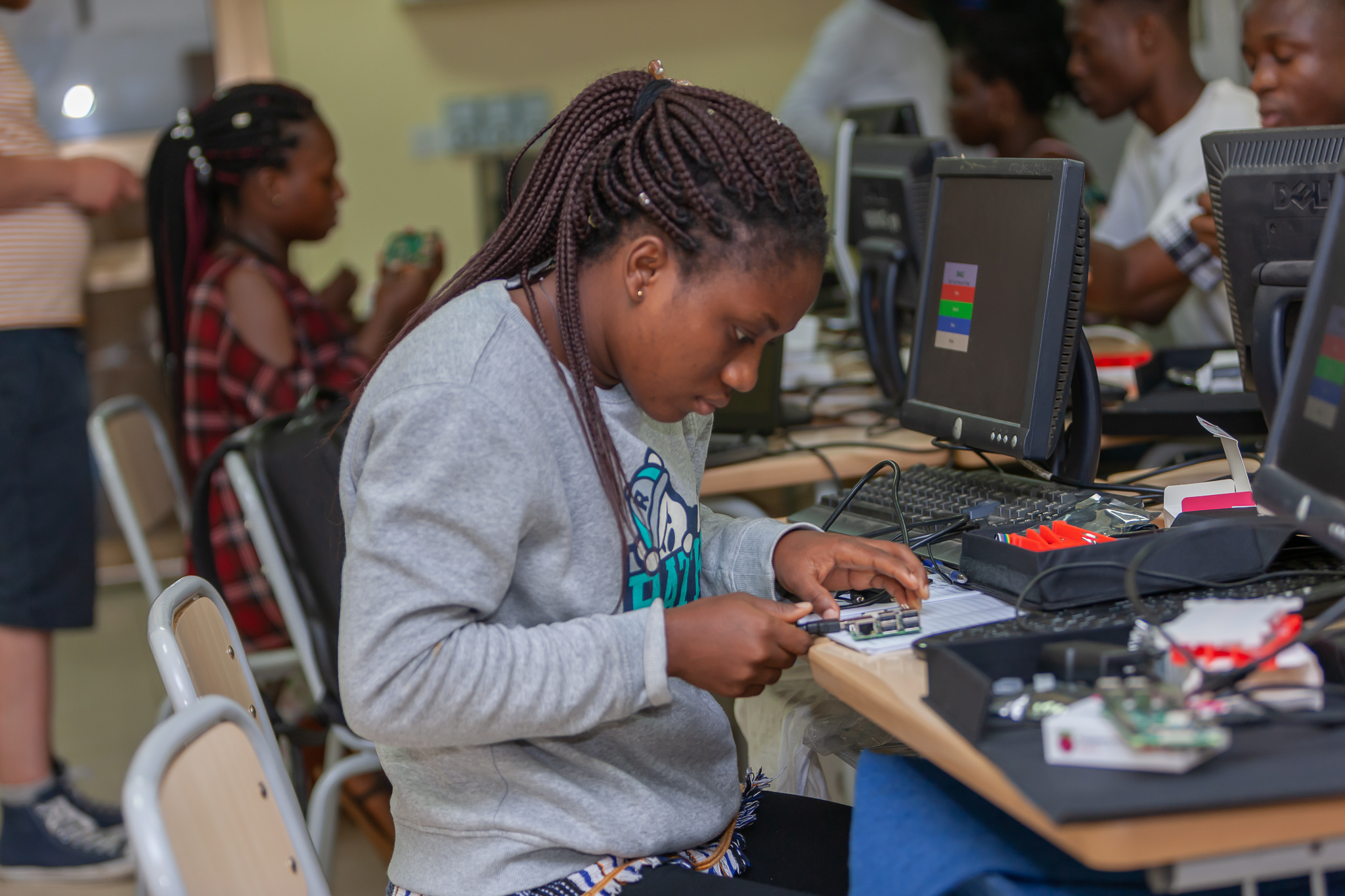 Global Coders at the University of Ghana